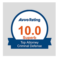 10.0 Superb Avvo Rating - Top Attorney Domestic Violence